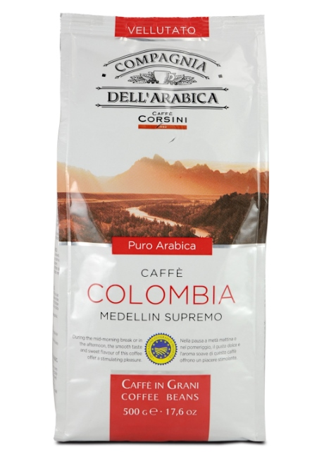 кафе на зърна Colombia medellin